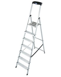 Stufen Stehleiter Arb. Höhe: 3,50 Standhö