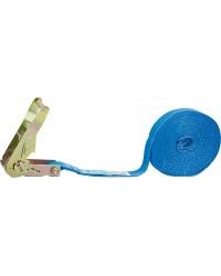 Verzurrgurt einteilig Blau, Gurt 25mm, Länge