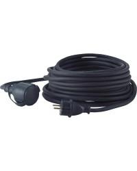 Verlängerungsleitung 10m Kabel schwarz