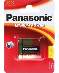 Lithium Batterie CRP2PEP 6V34x19 5x36mm