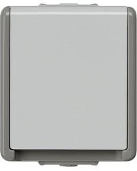 Aufputz-SCHUKO-Steckdose 75 mm x 66 mm x 54 mm