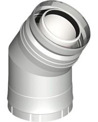Kunststoff-Abgassystem Bogen 30° - DN 080/125