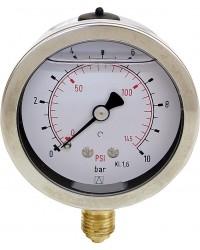 Glyz. Manometer 0-6bar 63mm G 1/4
