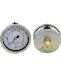 Glyz. Manometer 0-400bar 63mm G 1/4
