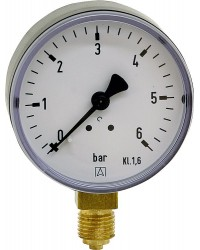 Manometer 0-16bar 63mmÝ G1/4