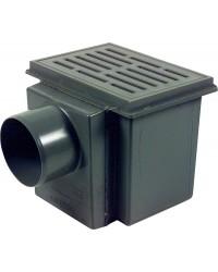 Kellerablauf 150x220mm DN100