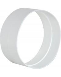 Außenverbinder DN100 weiß Kunststoff