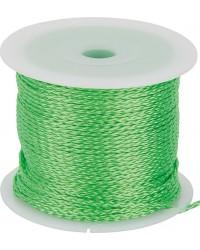 Maurerschnur grün, 2mm x 100m fluoriszierend
