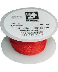 Maurerschnur 1,0mmx20m rot