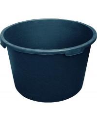 Mörtelkübel 65 Liter schwarz, breiter Rand