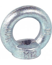 Ringmutter C15 M12 Verzinkt