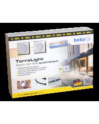 TerraLight Basis 4er-Set, LED-Spot eckig 60 x 60 m